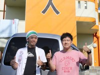 2012年10月4日チェックアウト 宮古島 民宿島人