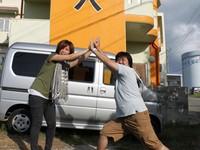 2013年9月17日チェックアウト 宮古島 民宿島人